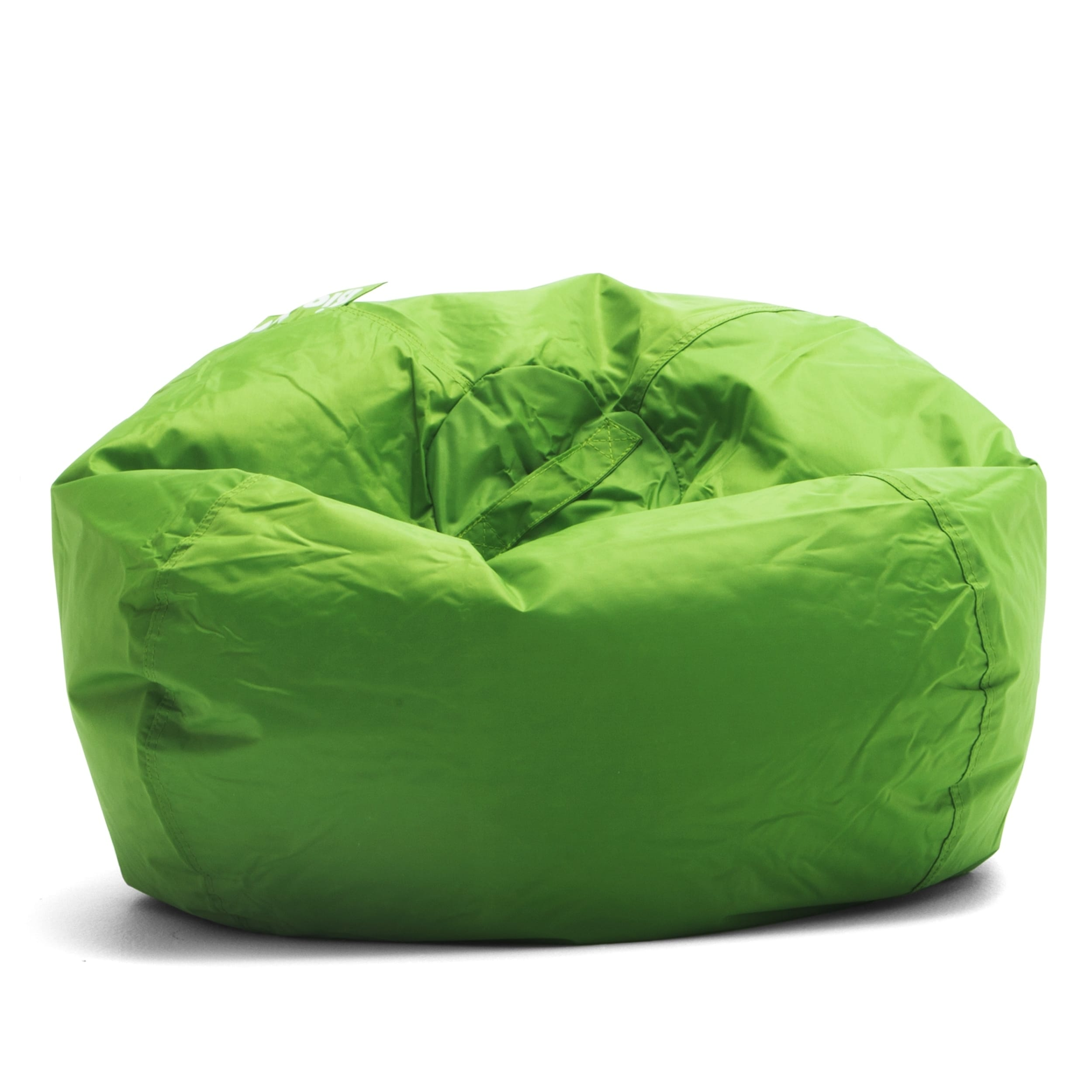 green bean bag chair swivel ikea shop big joe kids classic 98 free shipping today overstock com 21213986
