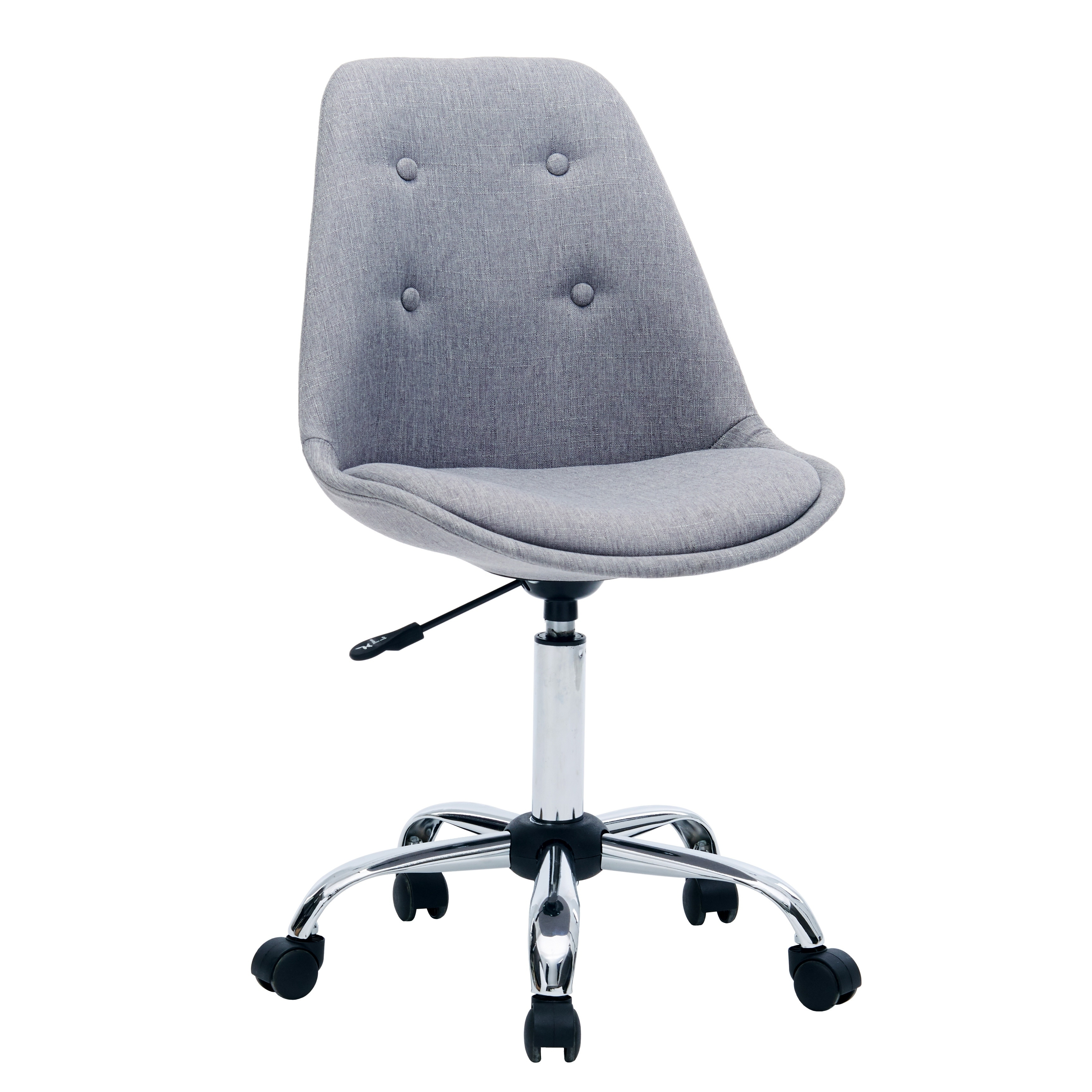 Height Adjustable Chair Porthos Home Office Chair With Height Adjustable Great For Leisure