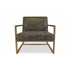 Leather Accent Chairs For Living Room Sofa Ideas Shop Harrington Modern Chair Lounge Free Shipping Today Overstock Com 21385266