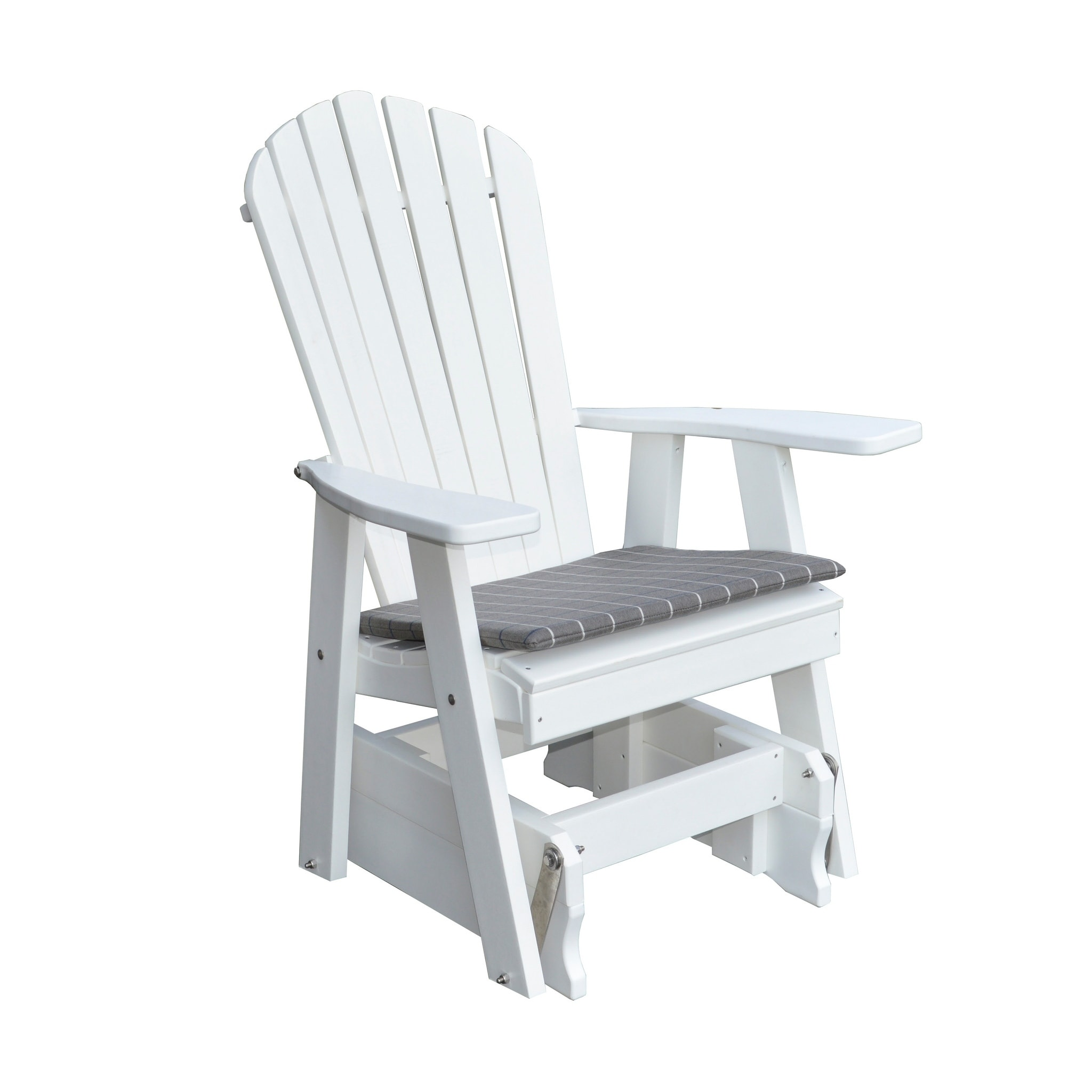 Gliding Chair Outdoor Adirondack Style Gliding Chair Recycled Plastic