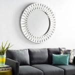 Safavieh Parley Modern Silver Sunburst 39 Inch Decorative Mirror 39 4 X 2 X 39 4 Overstock 21484438