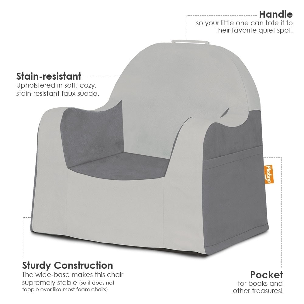 Slip Covers For Chairs P Kolino Little Reader Grey Slip Cover Chair