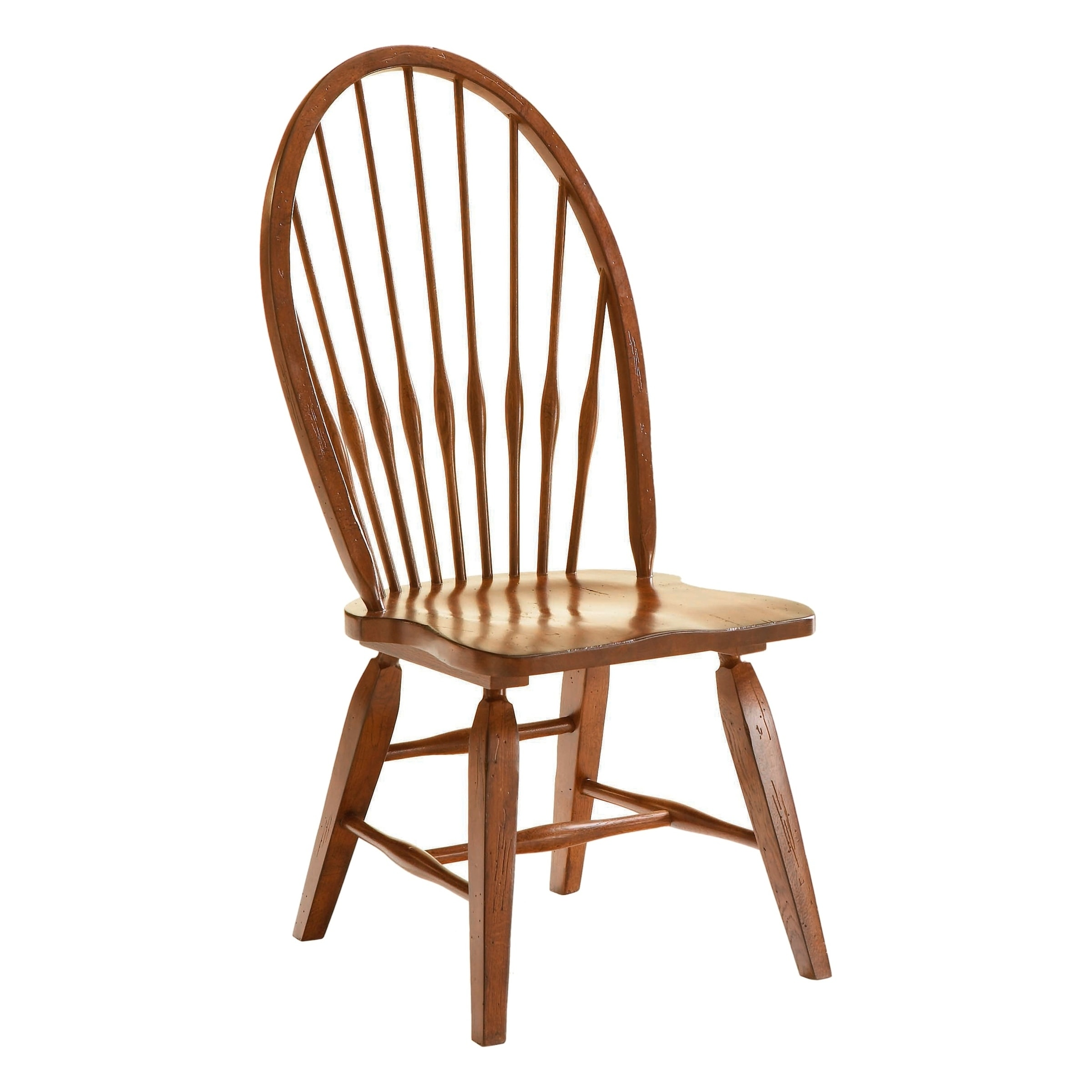 oak windsor chairs allsteel access chair instructions shop broyhill attic rustic dining side free shipping today overstock com 21620762