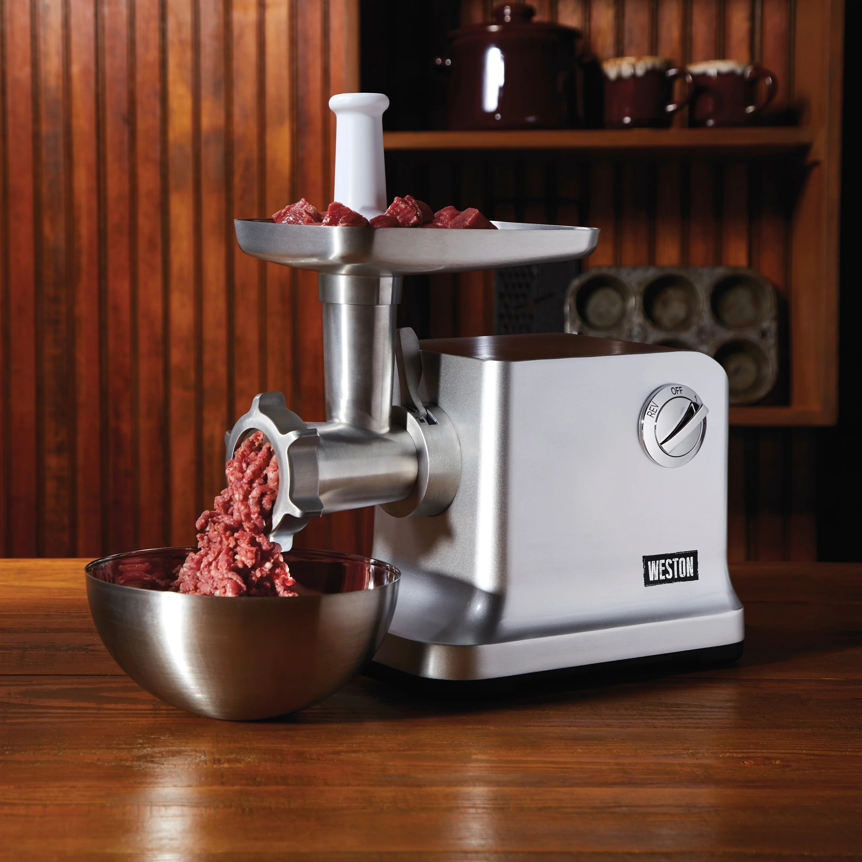 electric grinder kitchen cabinets paint colors shop weston 12 heavy duty 1 hp free shipping