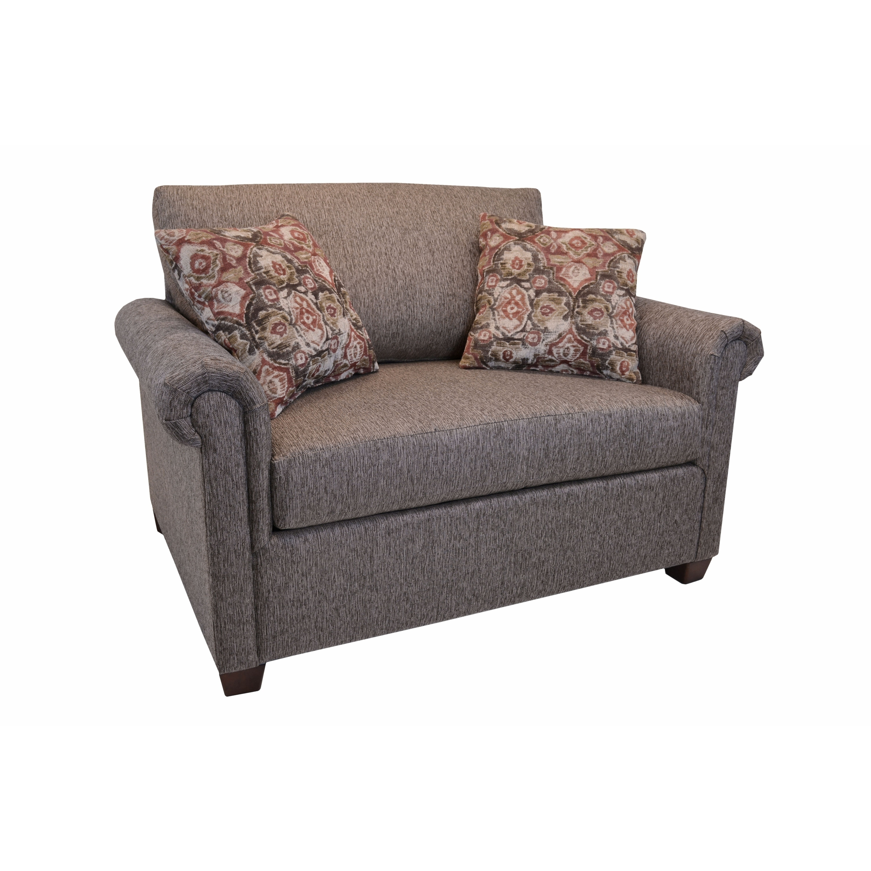 sleeper chair twin wicker outdoor chairs australia shop pauletta with innerspring mattress free