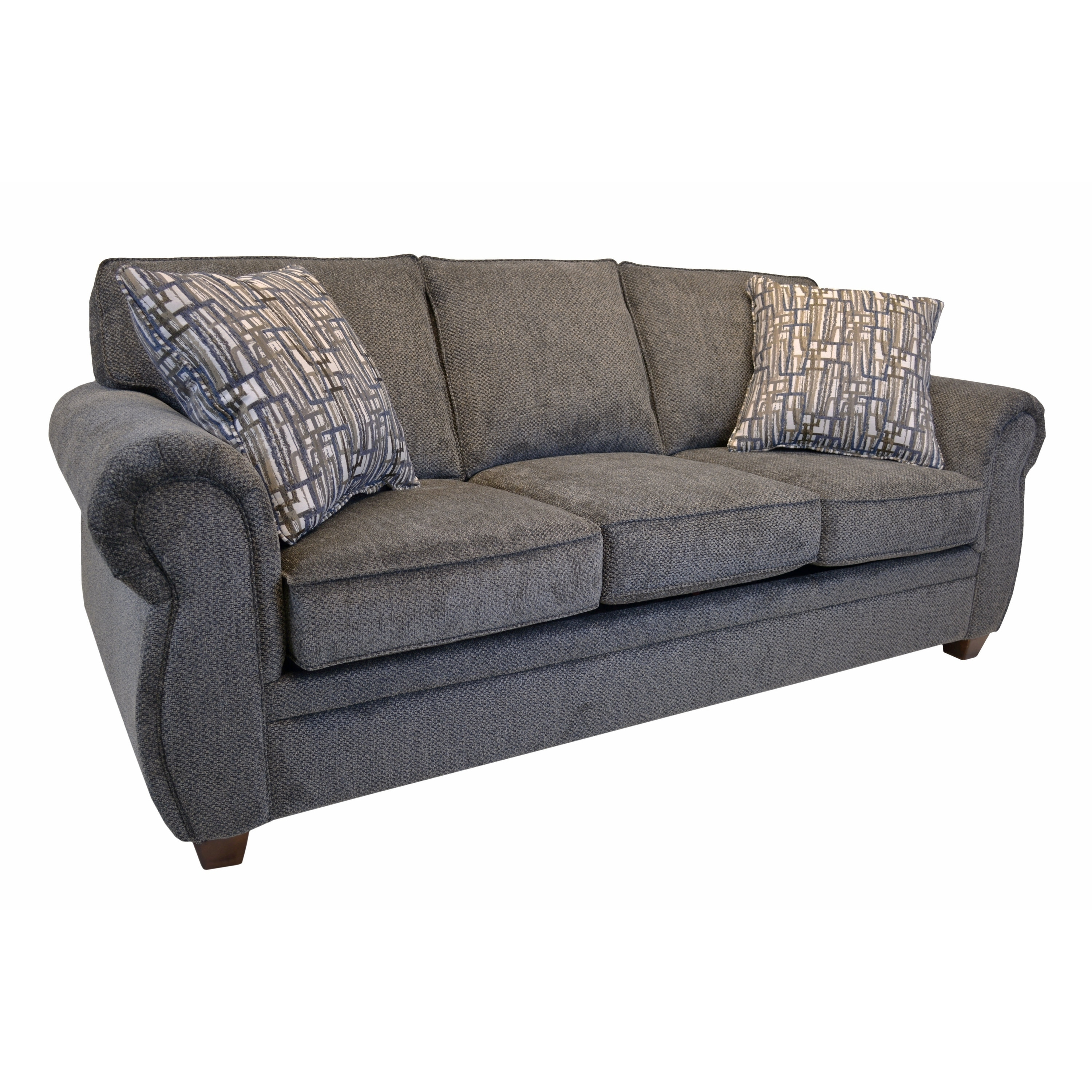sofa bed with innerspring mattress chaise lounge and recliner shop whitney sleeper queen free shipping today overstock com 21869393