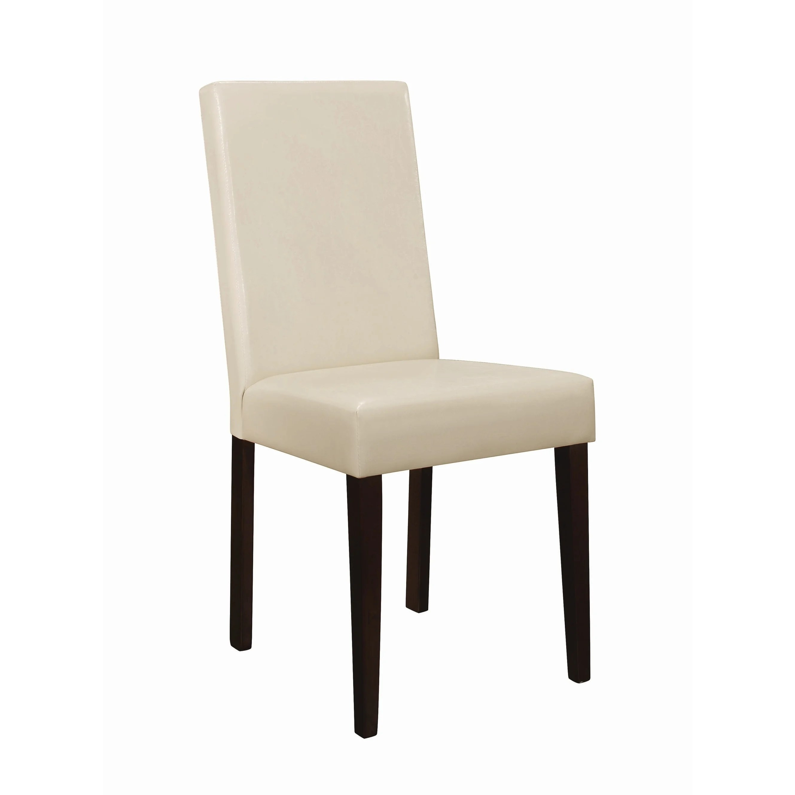 cream upholstered dining chairs unfinished room shop clayton chair on sale free
