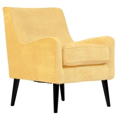 Wood Frame Accent Chairs Mid Century Plywood Lounge Chair And Ottoman Shop Porter Designs Kristina Yellow Upholstered Modern Free Shipping Today Overstock Com 22565323