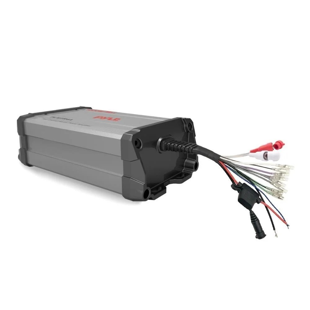 hight resolution of shop pyle plmtr4a 1500 watt 4 ch waterproof rated amplifier marine grade powersport amp for atv utv 4x4 jeep free shipping today overstock