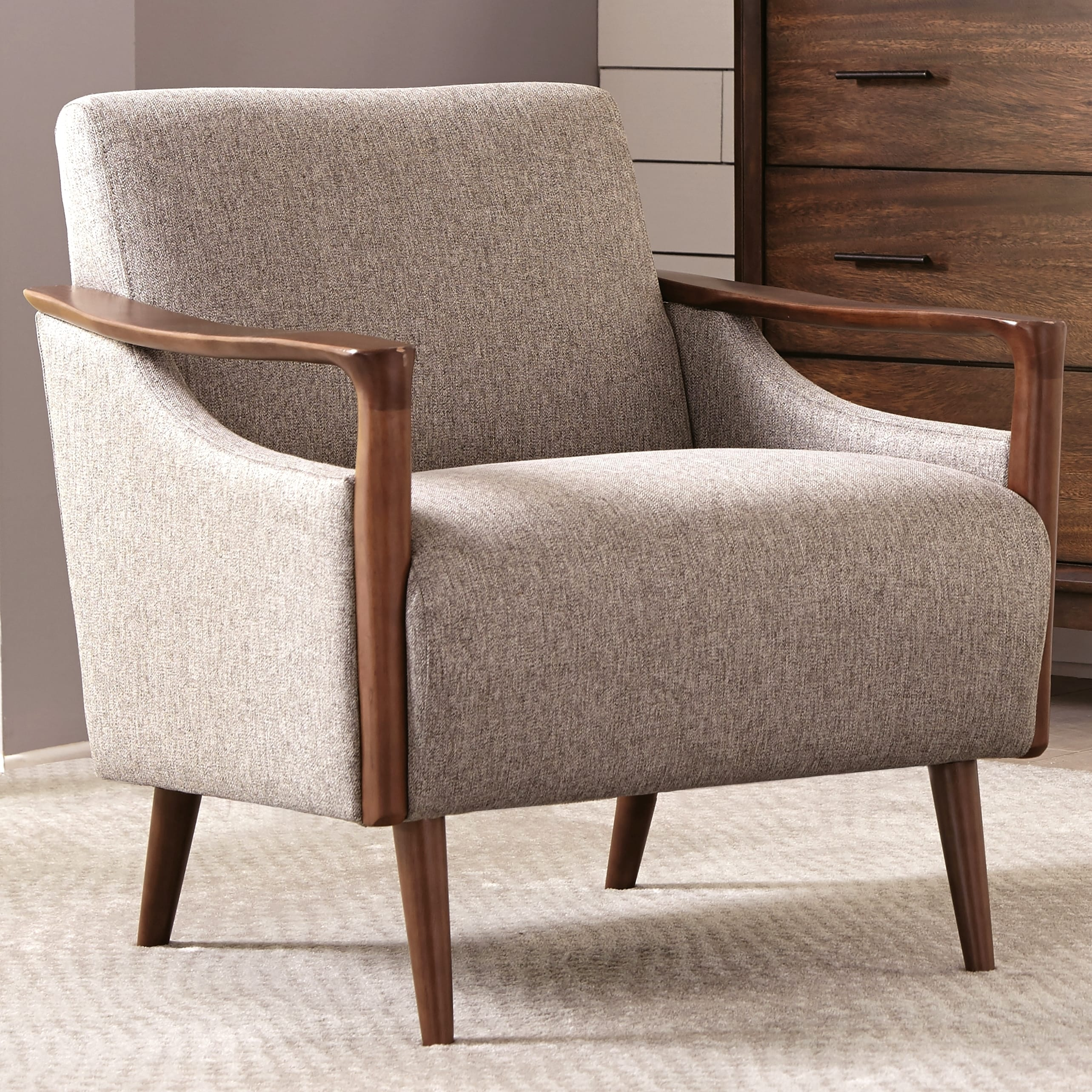 Accent Chair Living Room Mid Century Modern Design Living Room Accent Chair