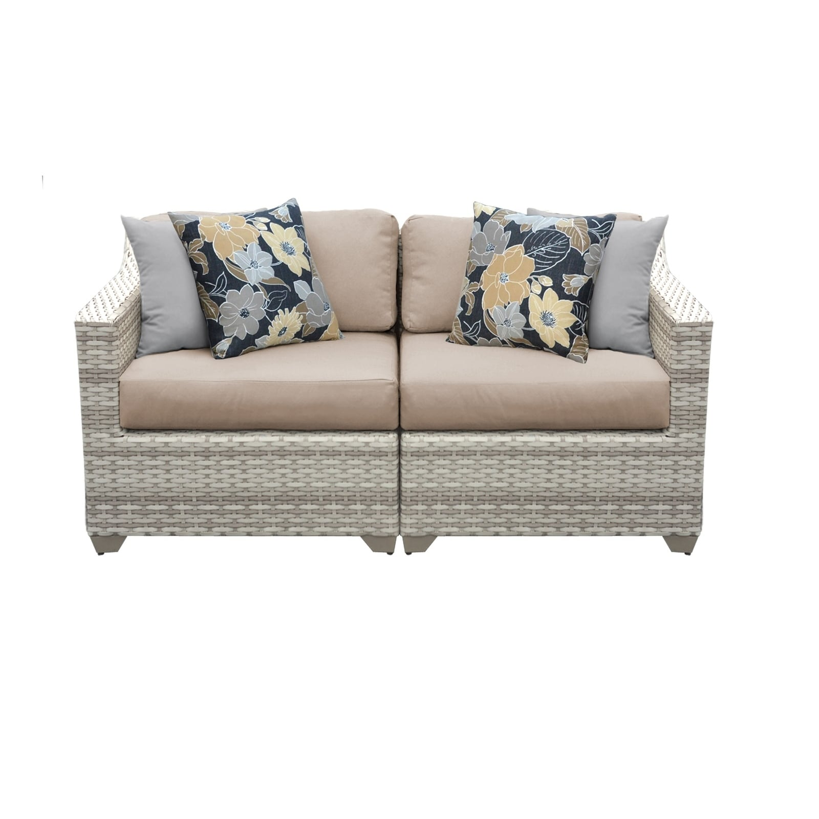 fairmont sofa laura ashley pull out bed kijiji shop 2 piece outdoor wicker patio furniture set 02a free shipping today overstock com 22908275