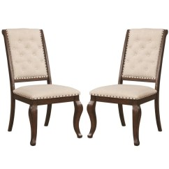 Chair Design Antique Vintage Office Shop French Neoclassic 18th Century Button Tufted Dining Chairs Set Of 2