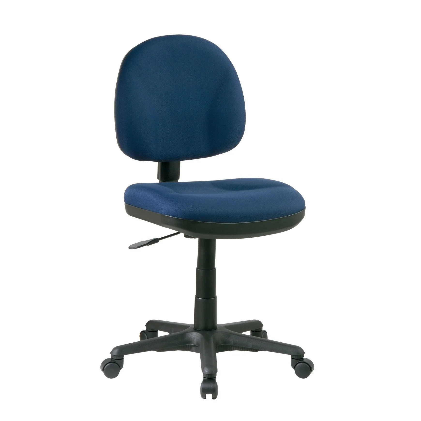 task chair without arms salon mat shop work smart sculptured free shipping today overstock com 24239552