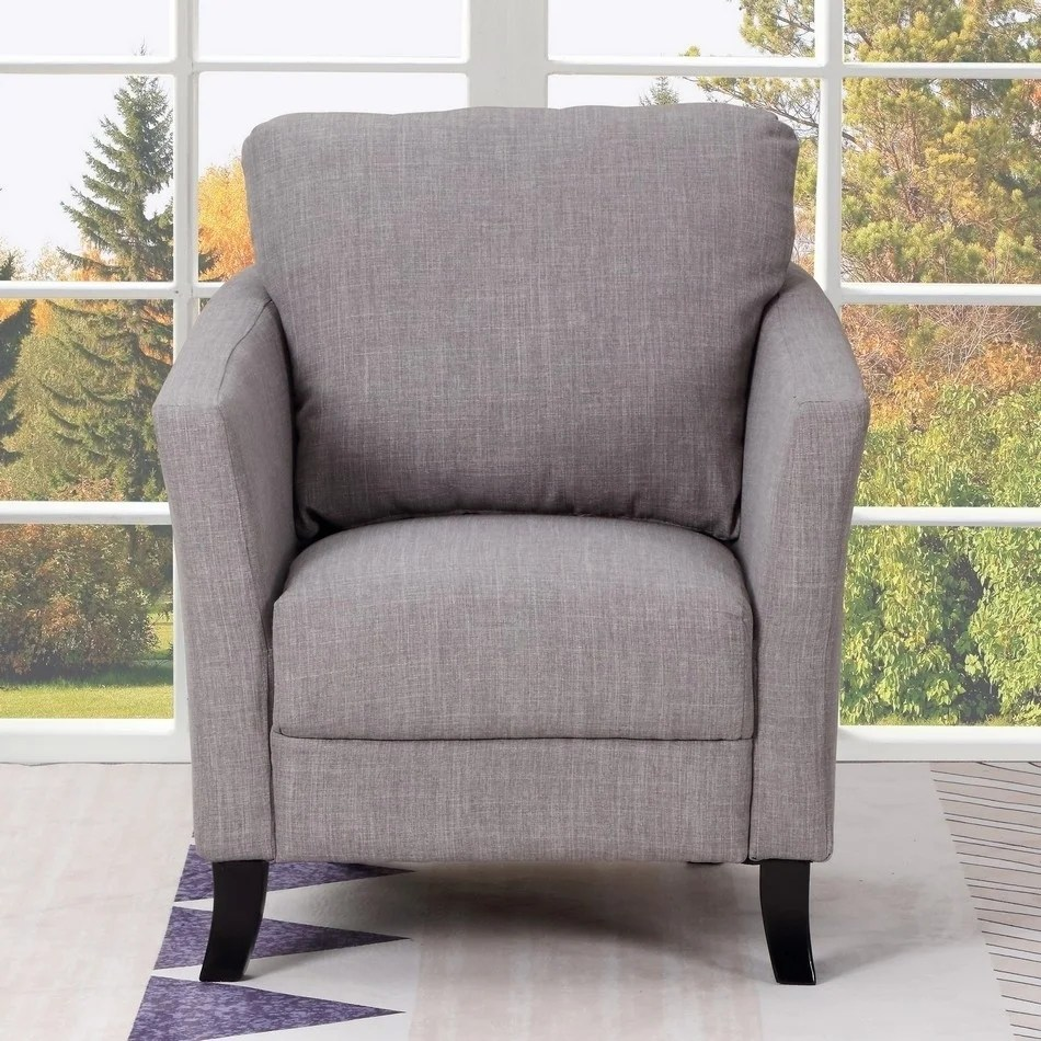 Upholstered Living Room Chairs Alyssa Transitional Upholstered Living Room Chair