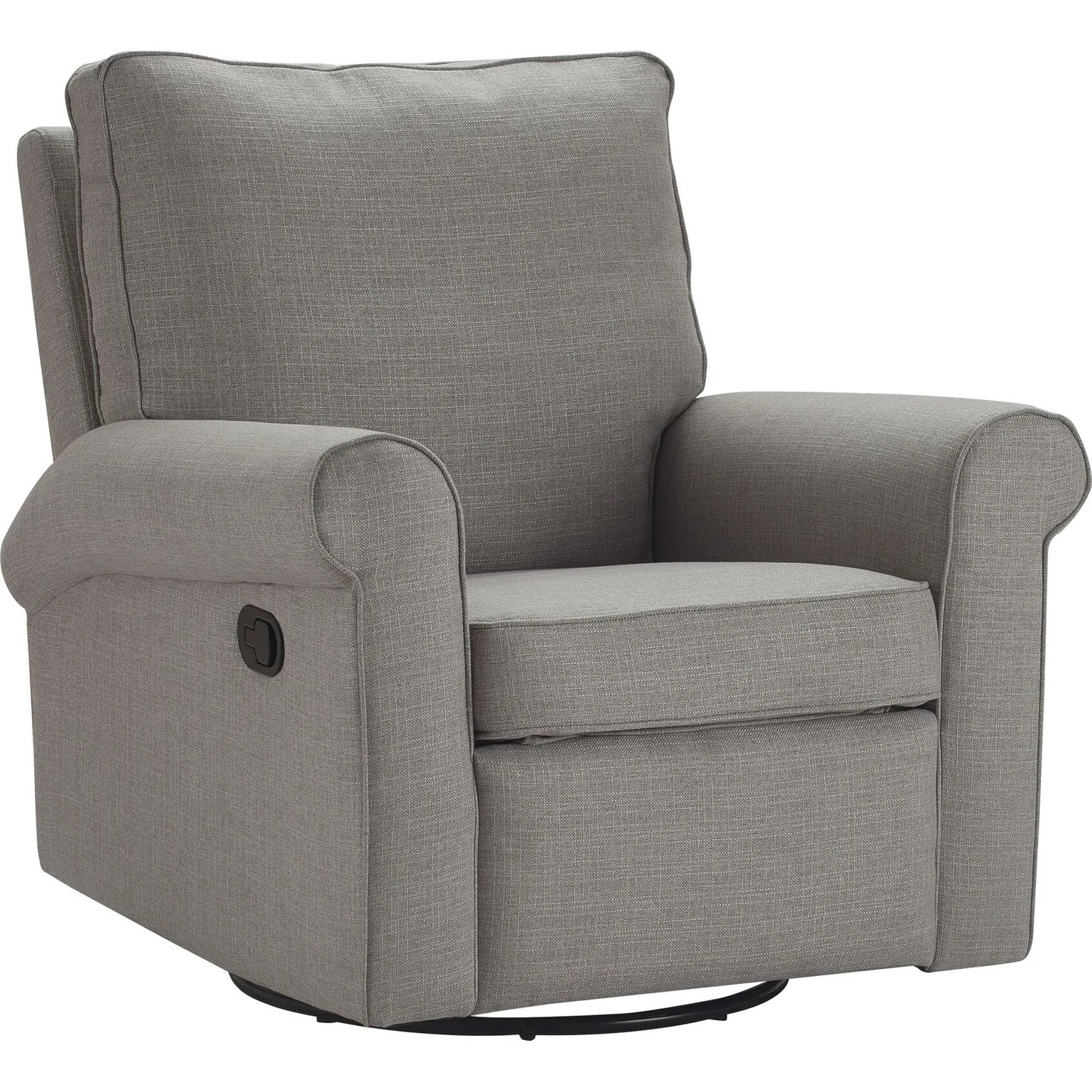 Swivel Recliner Chairs Truly Home Hughes Swivel Recliner Chair