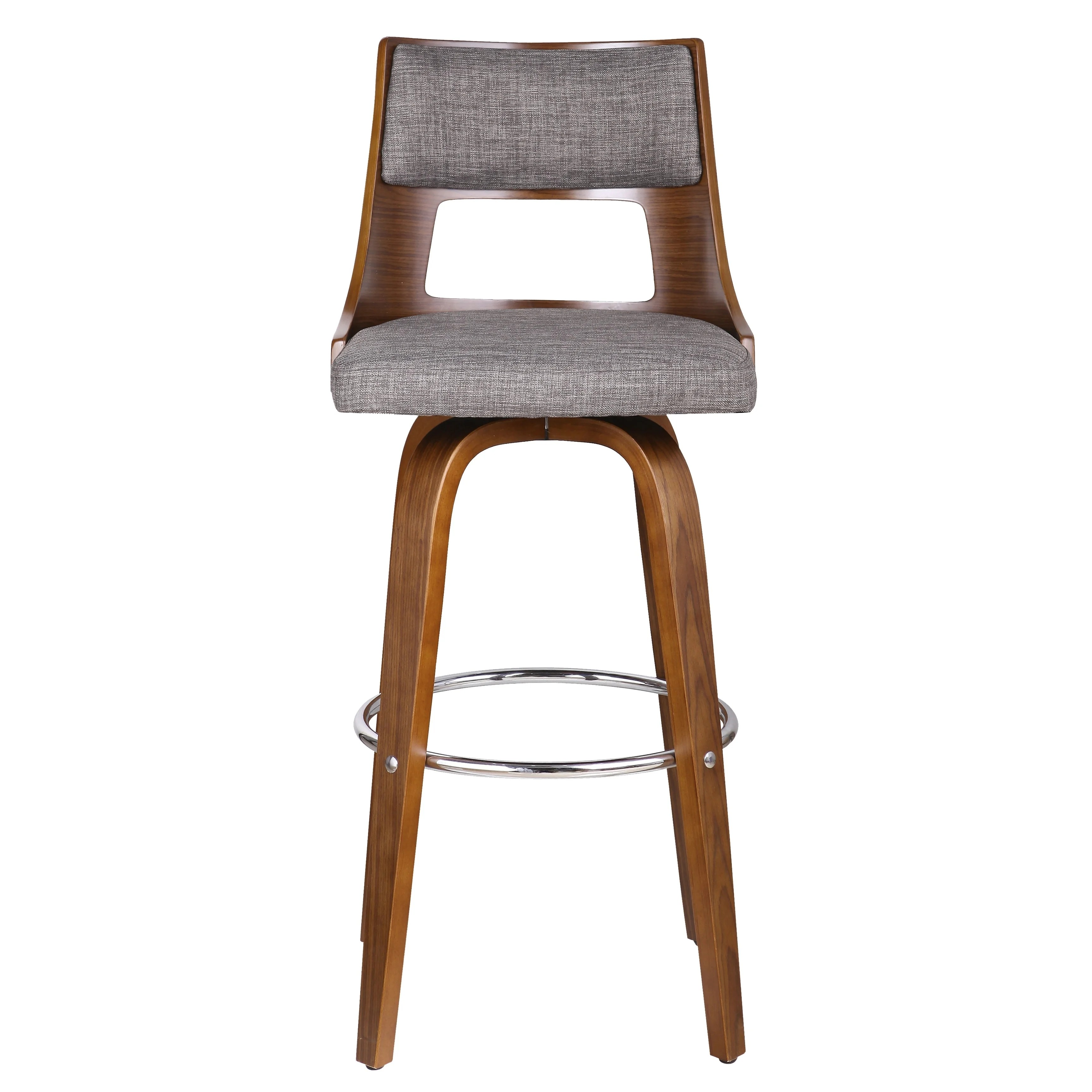 Wood Bar Chairs Porthos Home Piers Wood Bar Stools Beech Legs And Fabric Upholstery