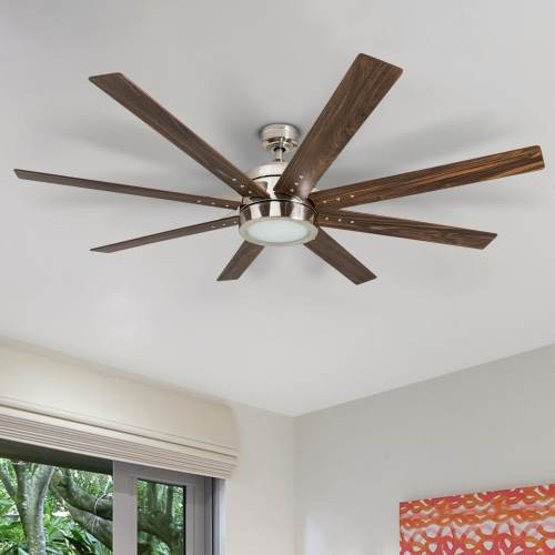 small resolution of honeywell xerxes 62 brushed nickel led remote control ceiling fan 8 blade integrated light