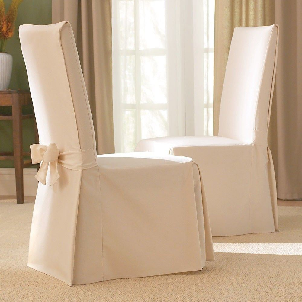 dining chair slipcover high that clips on table shop sure fit cotton classic free shipping