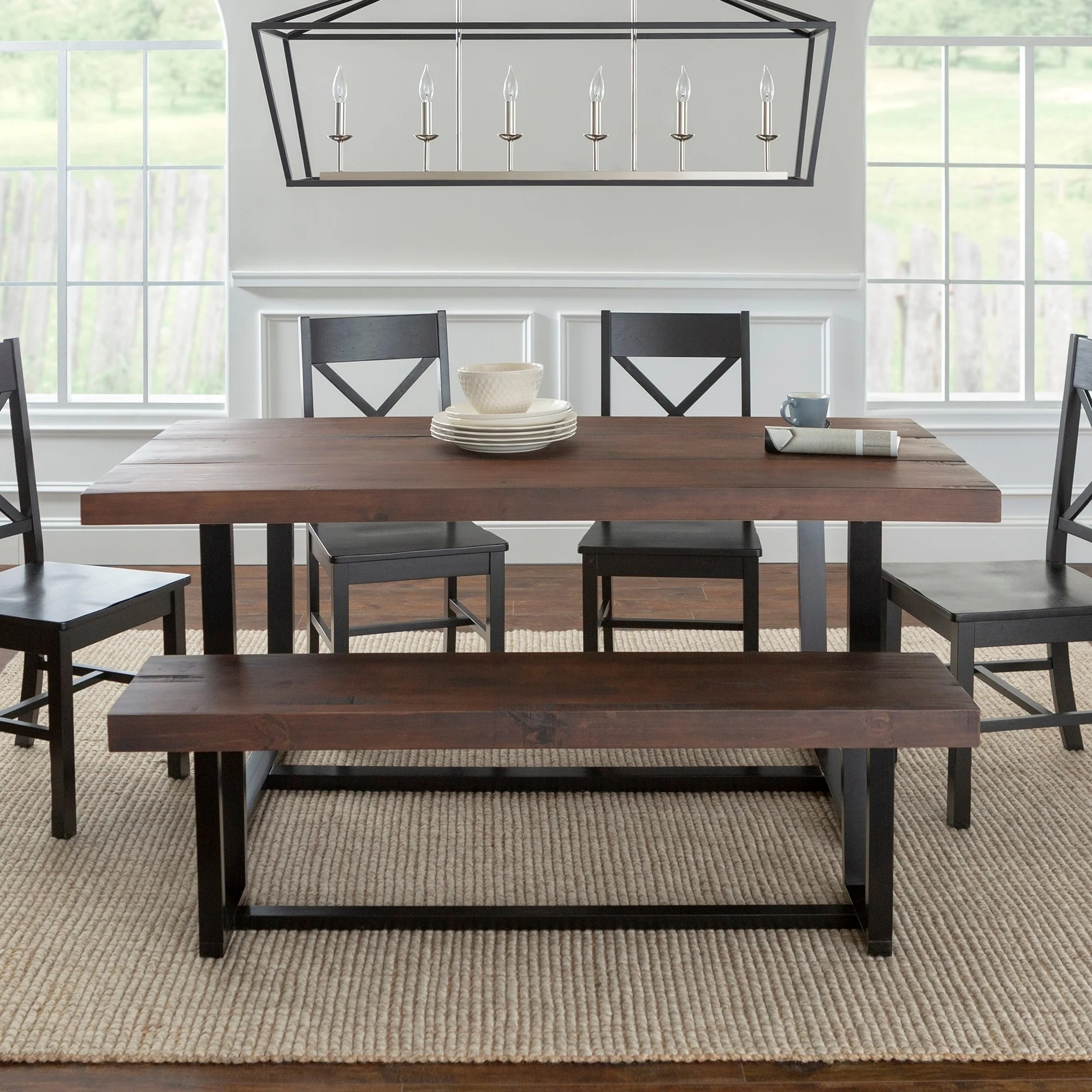 distressed dining chairs outside pub table and shop 6 piece set free shipping today overstock