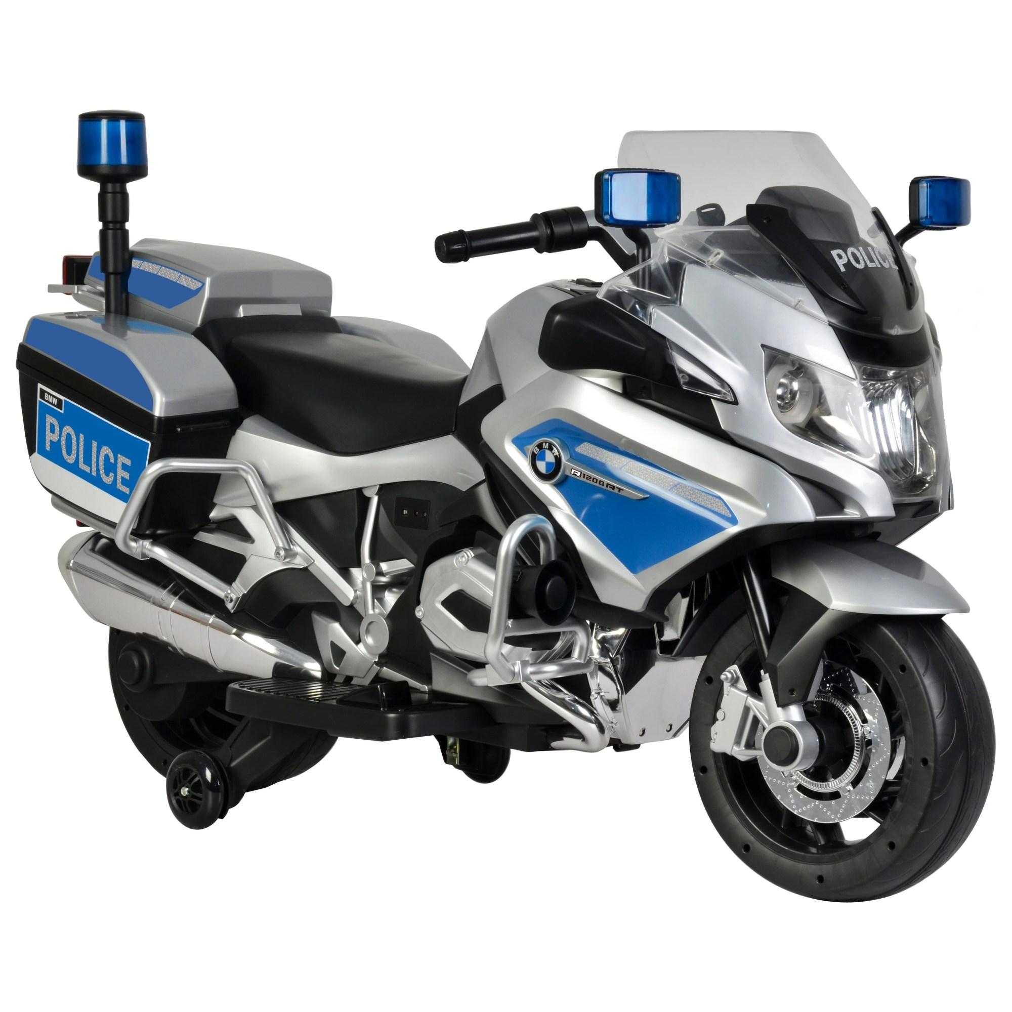 hight resolution of bmw police bike silver 12v
