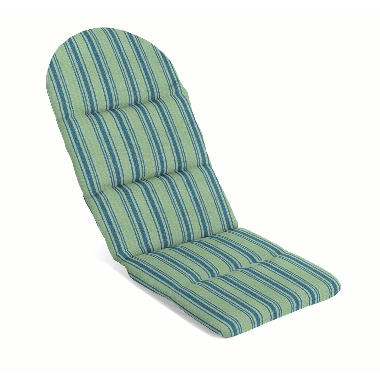 Weatherproof Adirondack Chairs Sunproof By Weatherproof Outdoor Adirondack Chair Cushion 49 In X 20 5 In