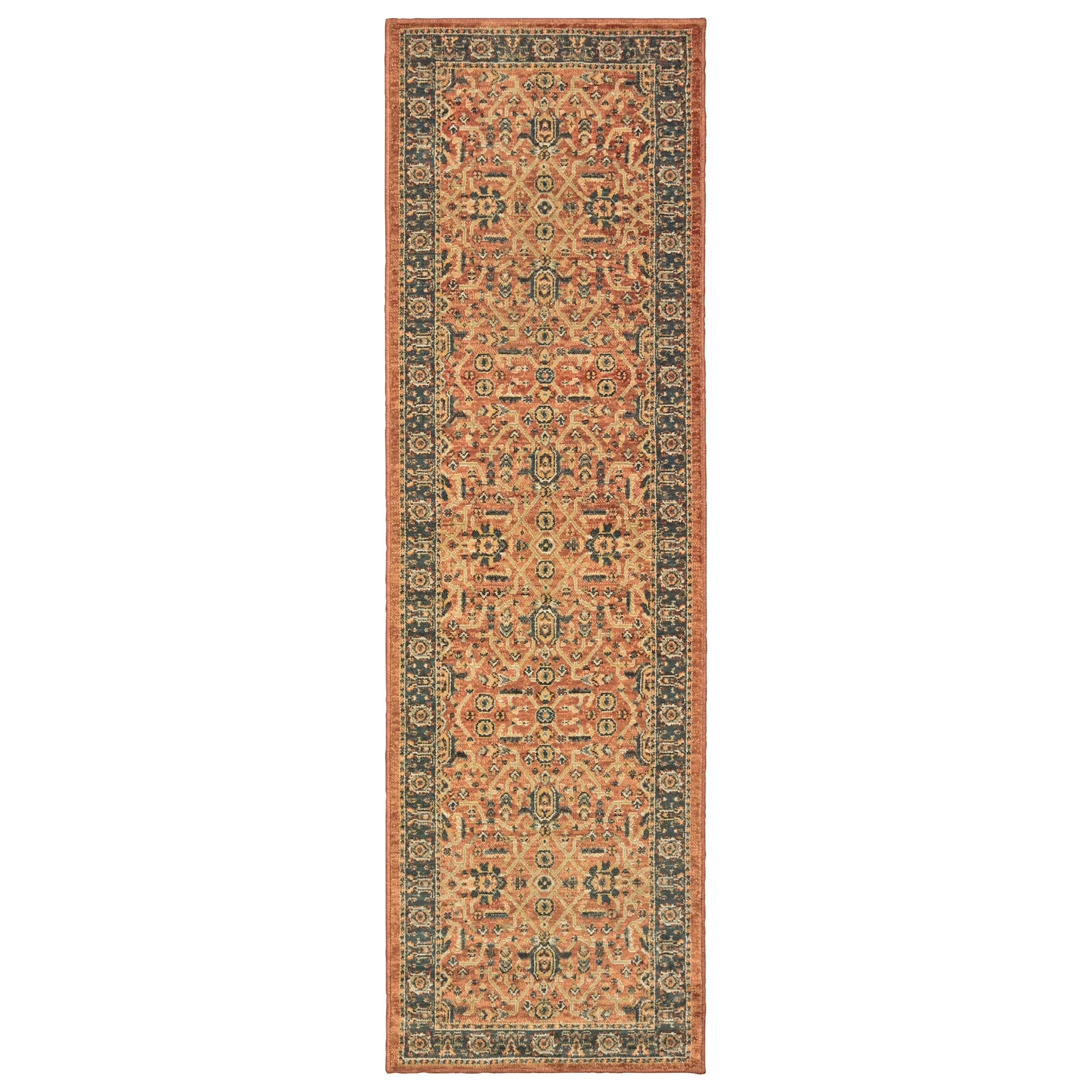 Terrazza Wanderlust Style Haven Terrazza Bordered Traditional Area Rug