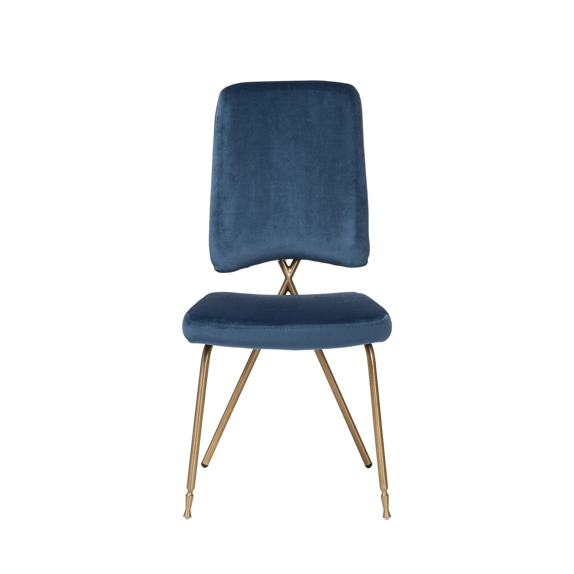 Blue Dining Chairs Scandie Blue Dining Chairs Set Of 4
