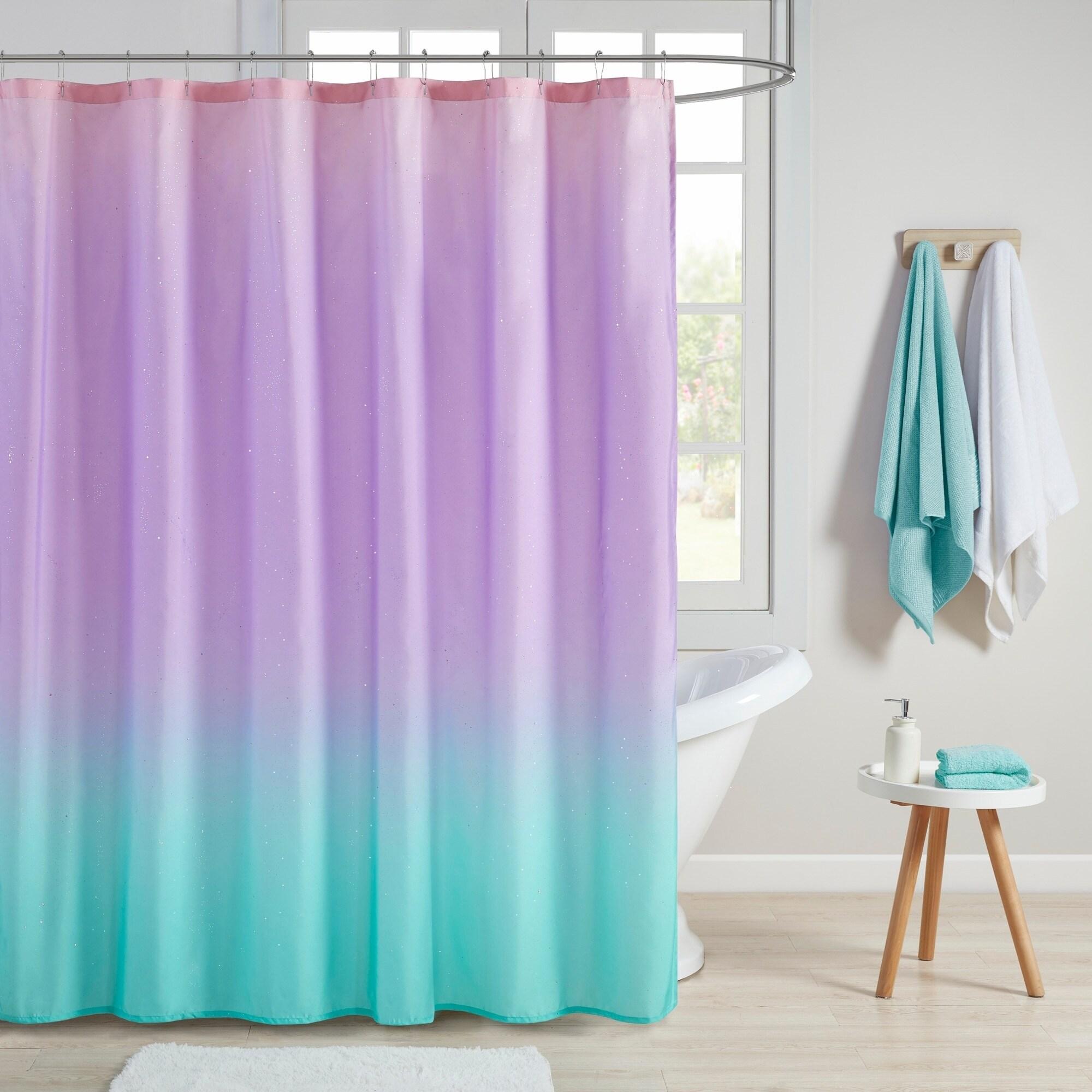 مضطرب تنوير صلة aqua and purple curtains