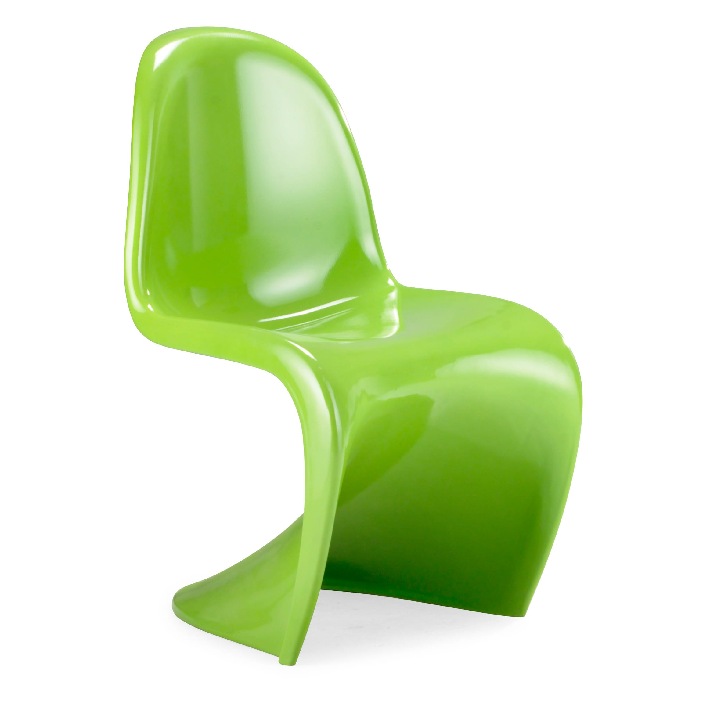 S Shaped Chair S Shaped Green Chair Set Of 2