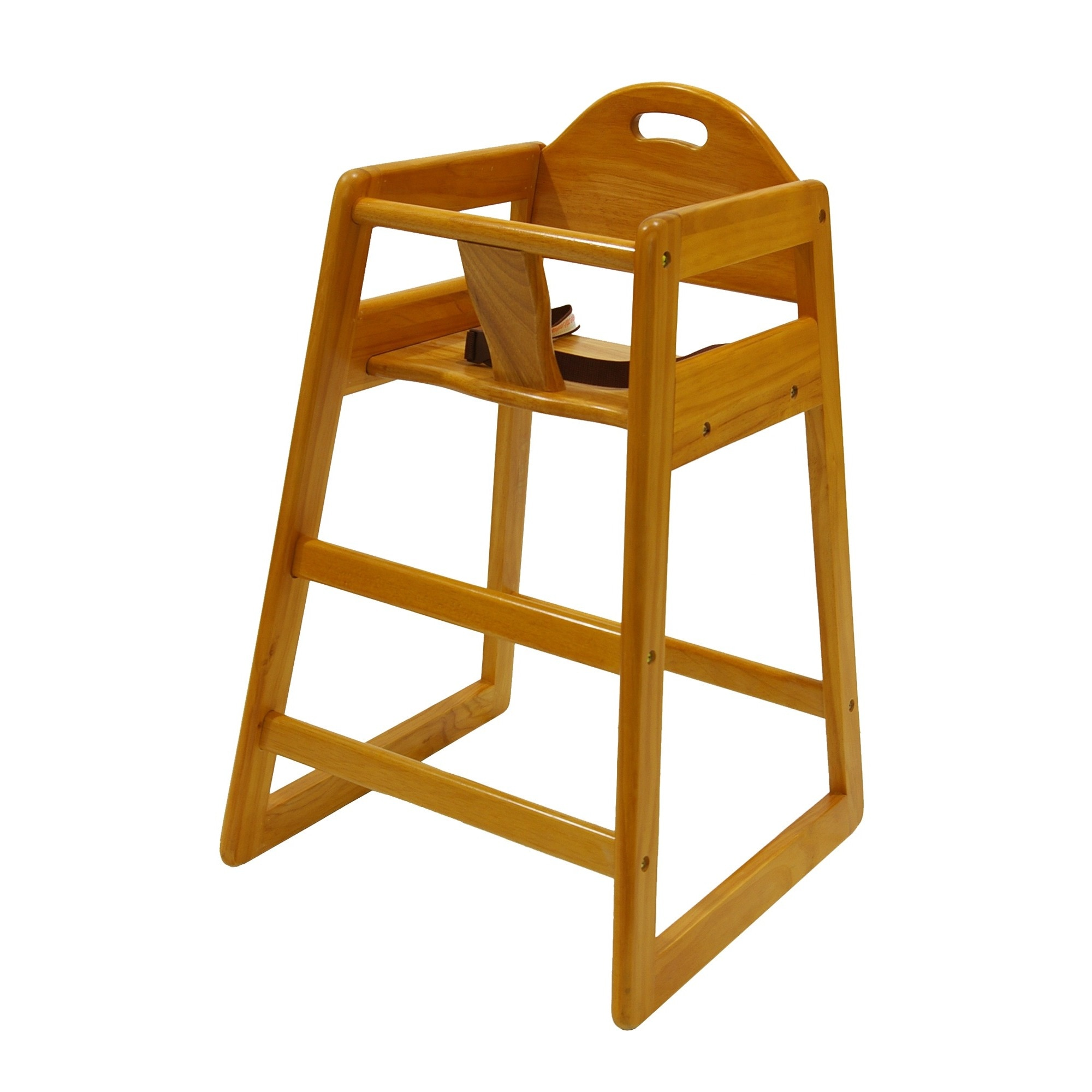 Wooden Baby High Chair La Baby Stackable Wooden High Chair