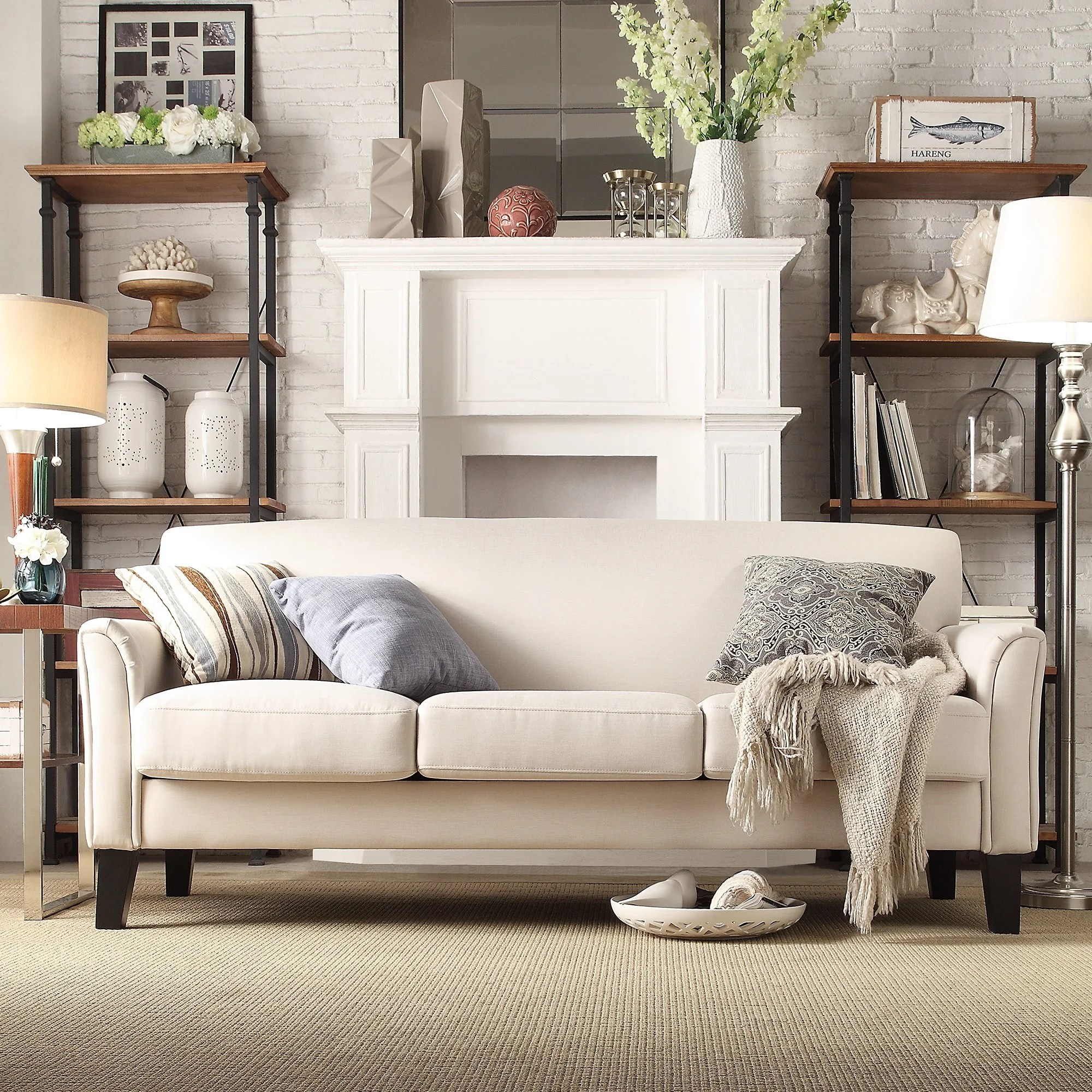 classic sofa hall table shop uptown modern by inspire q on sale free