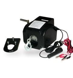 portable 2000 pound 12 volt winch [ 2000 x 2000 Pixel ]