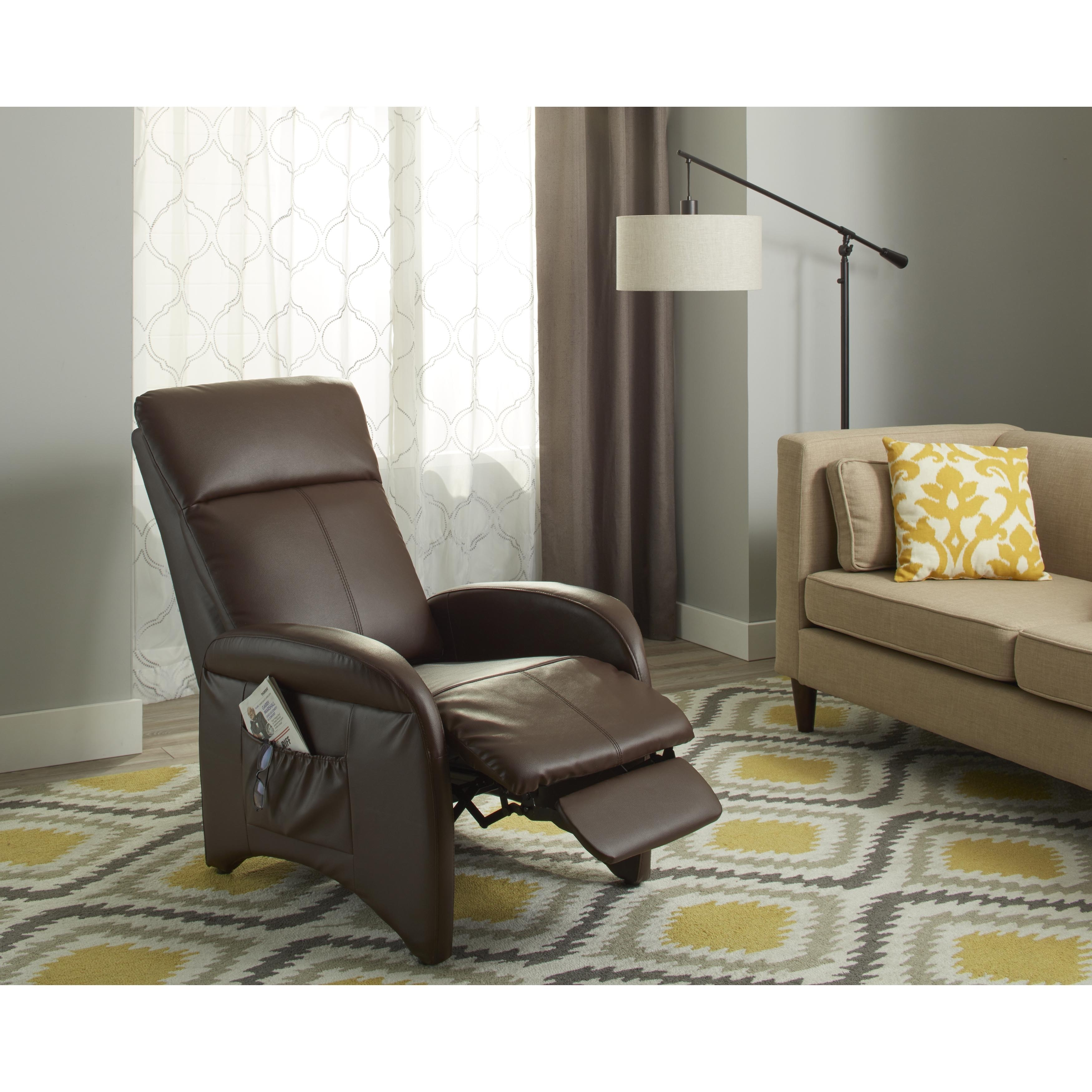 accent chair recliner cushions for metal folding chairs shop simple living addin small reclining on sale free shipping today overstock com 4692753