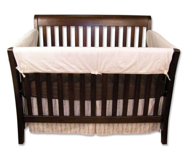 Shop Trend Lab Crib Wrap Convertible Crib Rail Guard Kit Free Shipping On Orders Over  Overstock Com