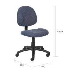 Posture Deluxe Chair Poang Cover Shop Boss Free Shipping Today Overstock Com 4808550