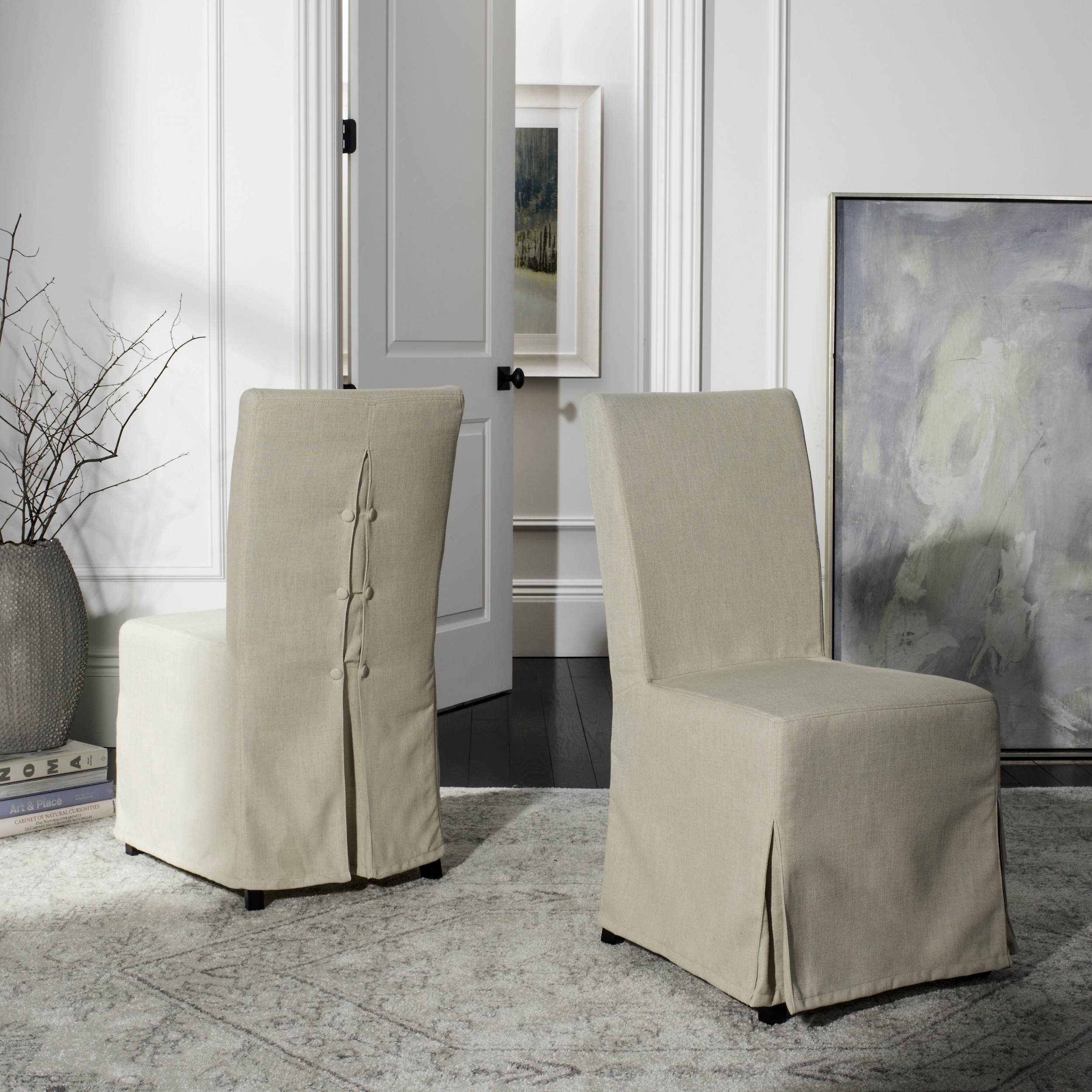 dining chair slipcover best festival uk shop safavieh parsons chairs set of 2 33 x 19 40