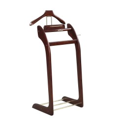 Mens Chair Valet Stand Table And Rental Austin Shop Men S Suit Brown Wood Free Shipping Today