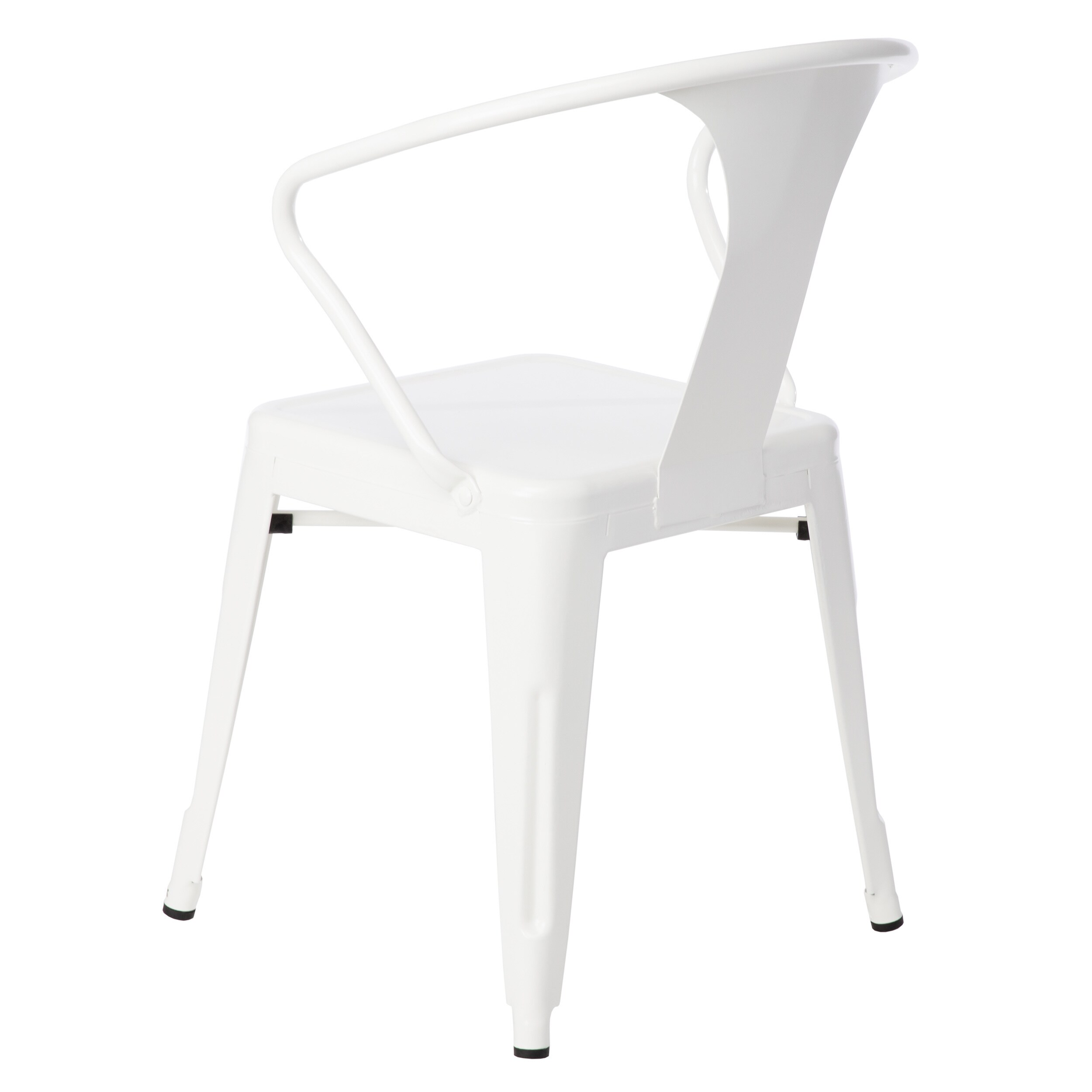 metal stacking chairs outdoor portable styling chair shop carbon loft white tabouret set of 4 free shipping today overstock com 5095636
