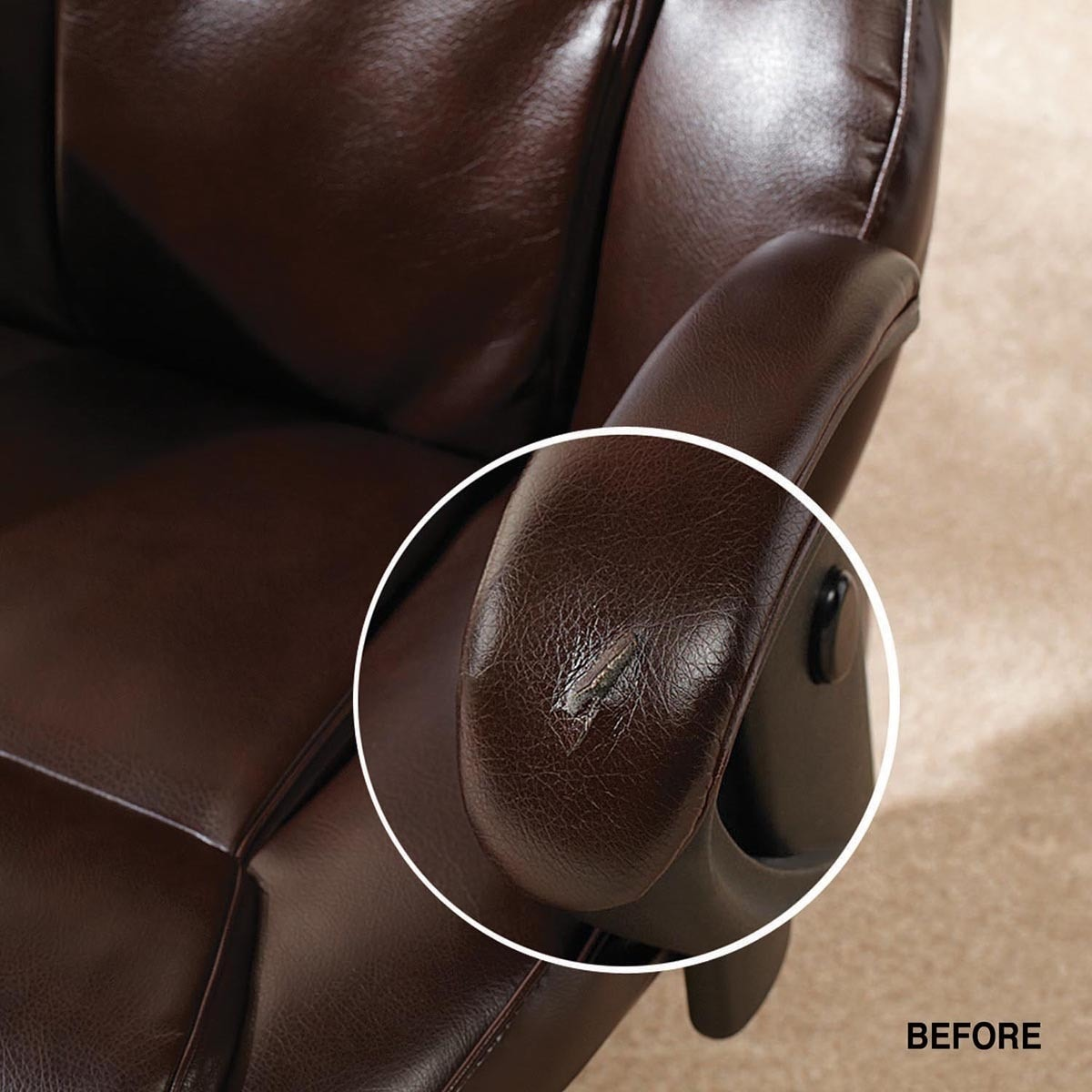 Vinyl Chair Repair As Seen On Tv Re Stor It Quick 20 Leather And Vinyl Repair Kit