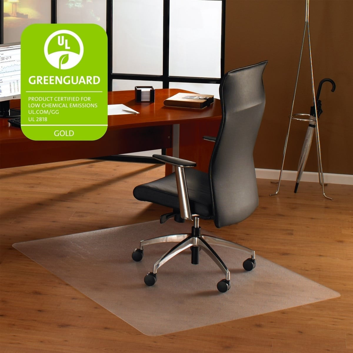clear chair mat steel in wrestling shop cleartex ultimat square polycarbonate for hard floors size 48 x