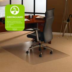 Ergonomic Chair Mat French Provincial And Ottoman Shop Cleartex Ultimat Lowith Medium Pile Carpet Rectangular 48 X60 Cl Clear