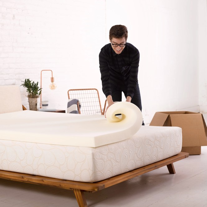 Authentic Comfort 3 Inch Memory Foam Mattress Topper Free Shipping Today 13118538