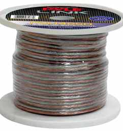 shop pyle 14 gauge 250 foot spool of high quality speaker zip wire free shipping on orders over 45 overstock 5392143 [ 1000 x 1000 Pixel ]
