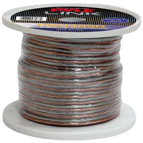 small resolution of shop pyle 14 gauge 250 foot spool of high quality speaker zip wire free shipping on orders over 45 overstock 5392143