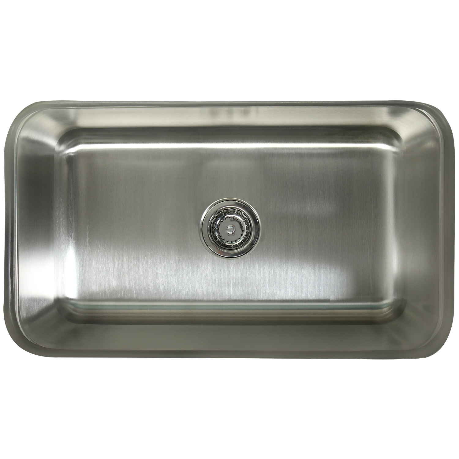 stainless steel undermount kitchen sinks lowes delta faucets shop single bowl 30 inch sink