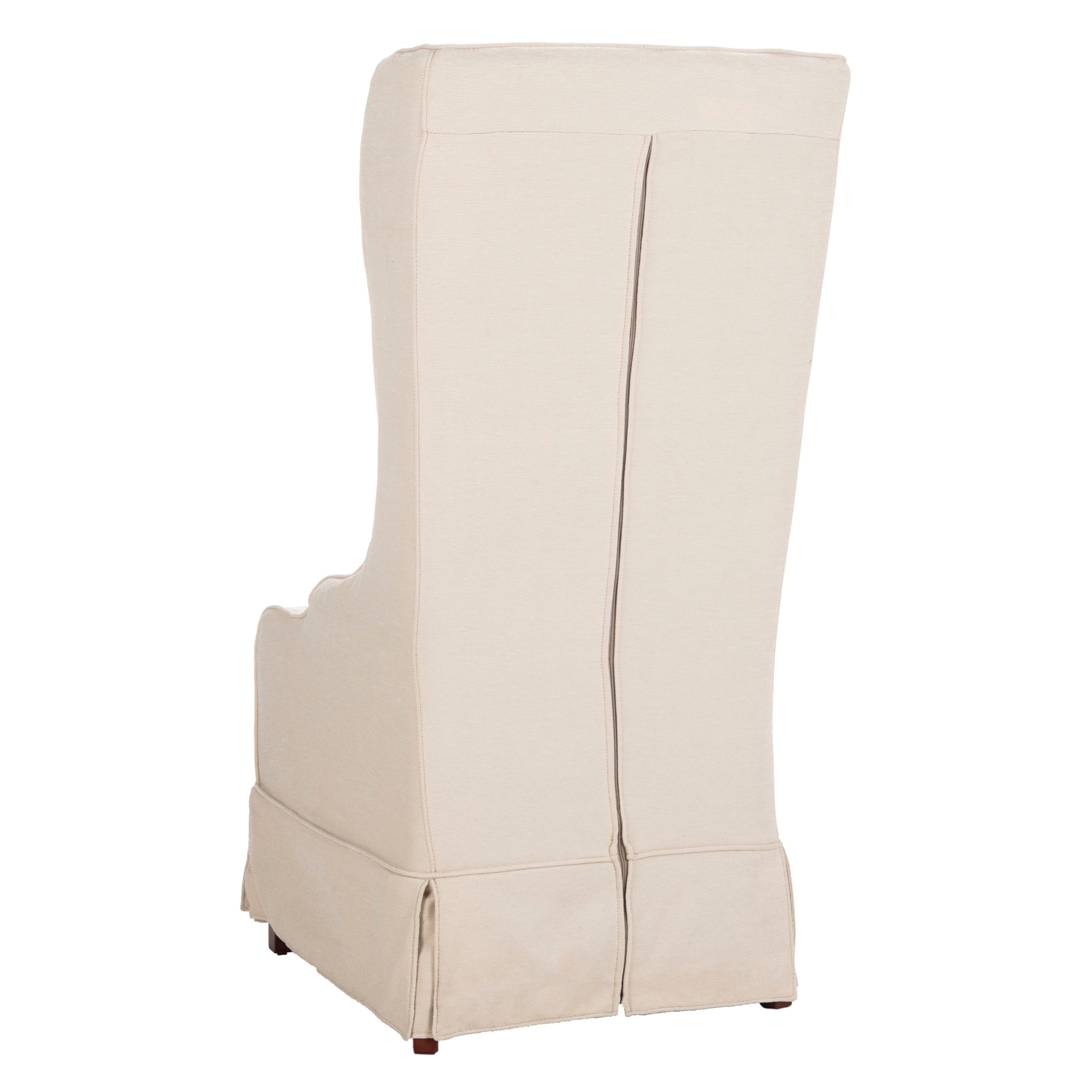 Slip Cover For Chair Safavieh En Vogue Dining Deco Bacall Ivory Slip Cover Dining Chair
