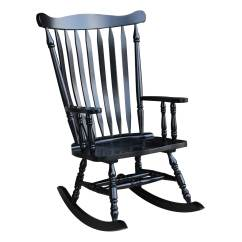 Black Rocking Chair Tall Back Office Chairs Shop Colonial Antique 28 W X 36 D 44 5 H Free Shipping Today Overstock Com 6193234