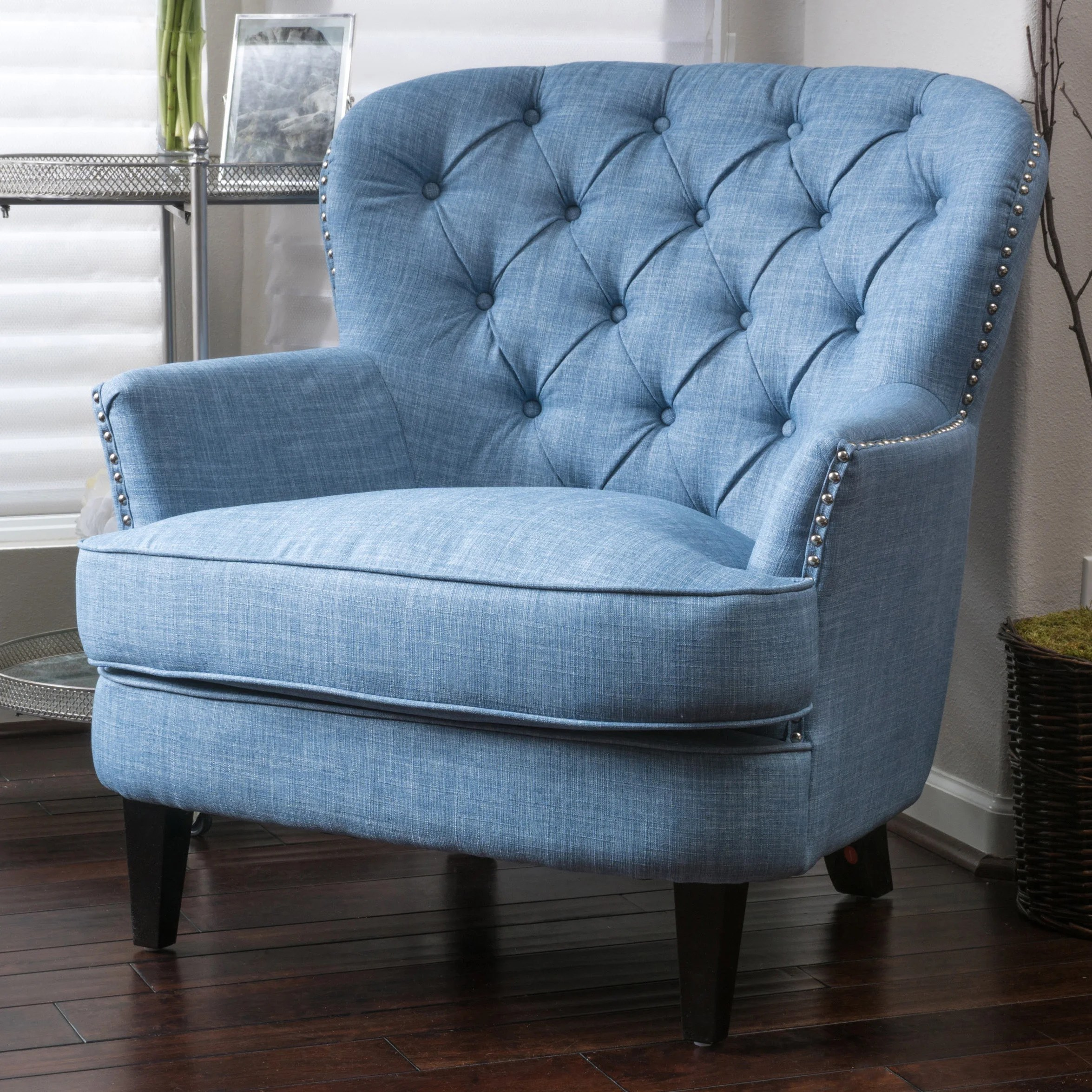 tafton club chair large baseball bean bag shop tufted oversized fabric by christopher knight home on sale free shipping today overstock com 6201477