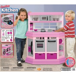 American Plastic Toys Custom Kitchen French Country Designs Shop Play Set Ships To Canada Overstock Ca 6287204