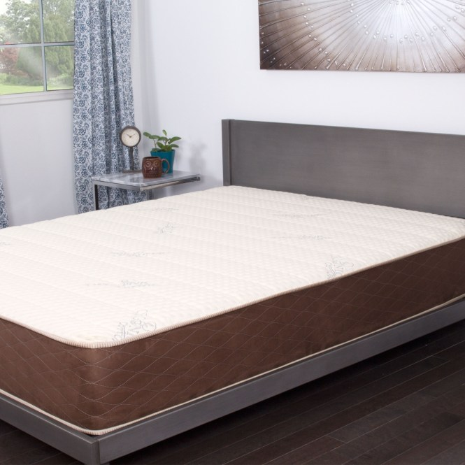 Nuform Allure Talalay Latex Soft Medium Firm 11 Inch King Size Mattress Free Shipping Today 14050302